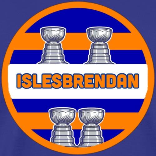 islesbrendan logo - Men's Premium T-Shirt