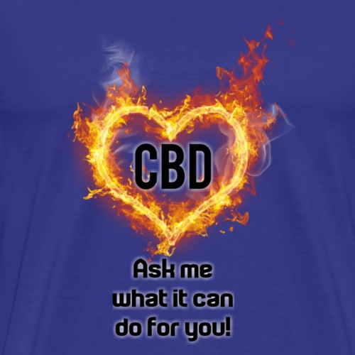 What can CBD do? - Men's Premium T-Shirt