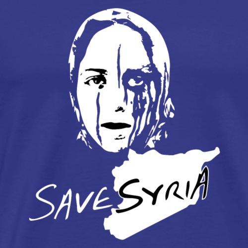 Save Syria - Men's Premium T-Shirt