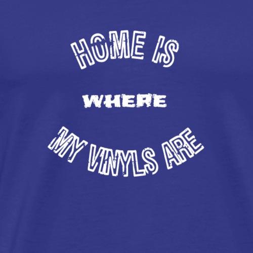 Vintage vinyl records tshirt - Men's Premium T-Shirt
