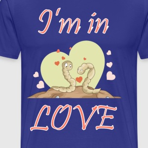 I am in love - Men's Premium T-Shirt
