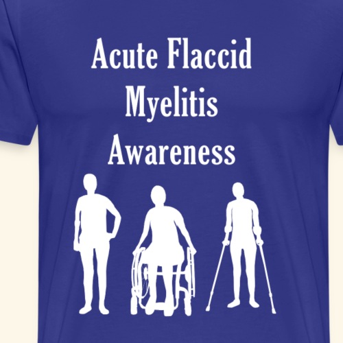 Acute Flaccid Myelitis Awareness - Men's Premium T-Shirt