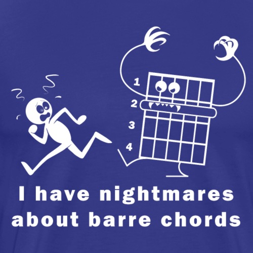 Barre Chord Nightmare - Men's Premium T-Shirt