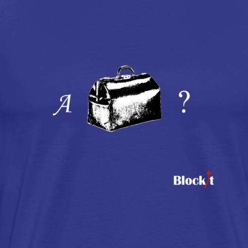 A Handbag? - Men's Premium T-Shirt