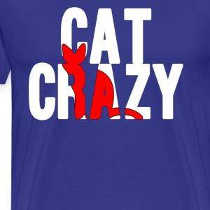 Cat Crazy - Men's Premium T-Shirt