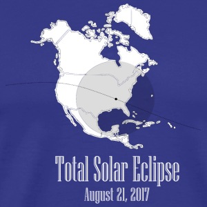 eclipse august 2017 - Men's Premium T-Shirt