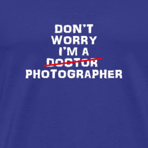 Photographer funny design - Men's Premium T-Shirt
