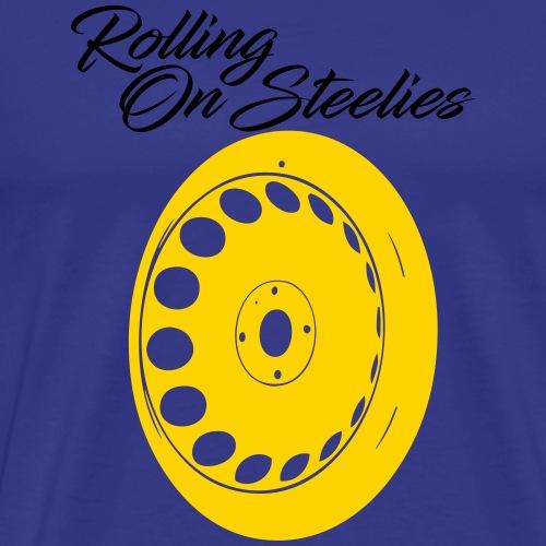 rollingonsteelies by GusiStyle - Men's Premium T-Shirt