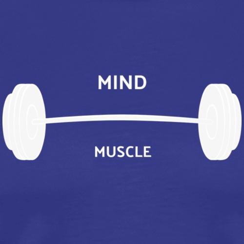 MIND OVER MUSLCE - Men's Premium T-Shirt