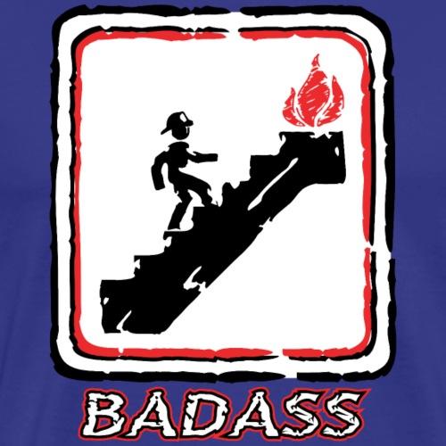 Firefighter Badass T-Shirt - Men's Premium T-Shirt