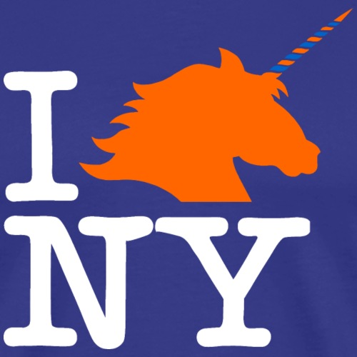 I Unicorn New York (Kristaps Porzingis) - Men's Premium T-Shirt