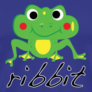 Funny ribbit frog product. - Men's Premium T-Shirt