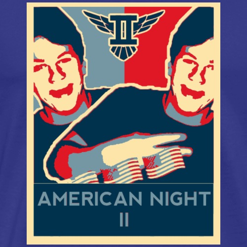 American Night II - Men's Premium T-Shirt