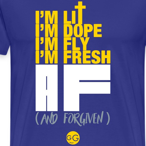 AF (And Forgiven) - Men's Premium T-Shirt