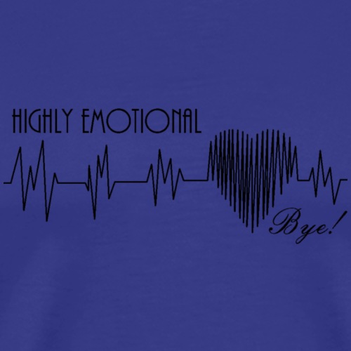 HIGHLY EMOTIONAL - Men's Premium T-Shirt