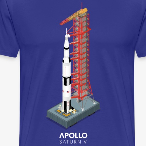 Saturn V Rocket - Men's Premium T-Shirt