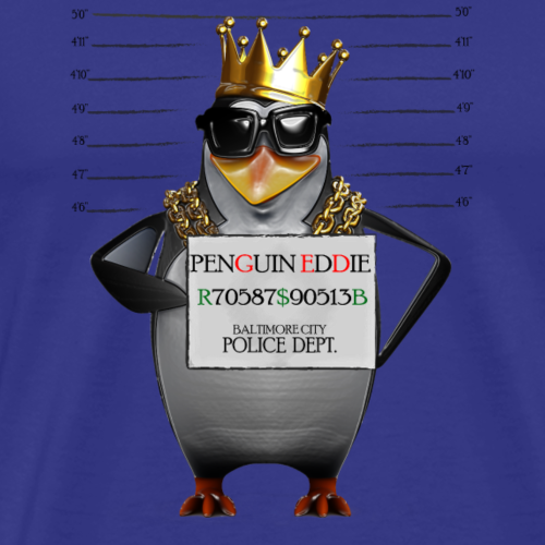 EddieThaPenguin - Men's Premium T-Shirt