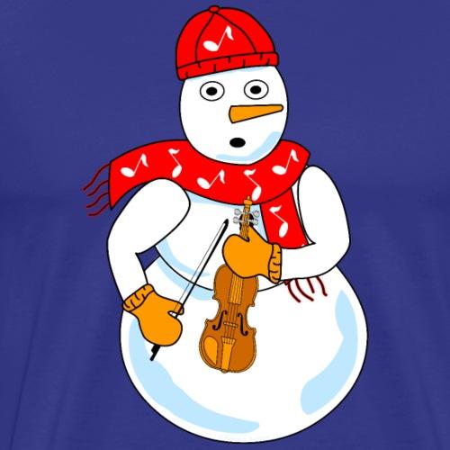 Violin Snowman