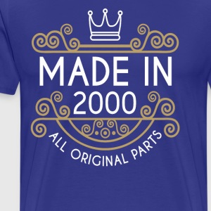 Made In 2000 All Original Parts - Men's Premium T-Shirt