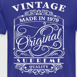 Vintage Made in 1979 Original - Men's Premium T-Shirt