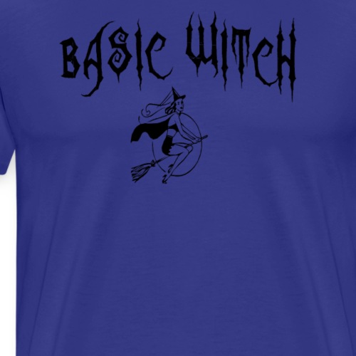 Basic Witch Halloween T Shirt - Men's Premium T-Shirt
