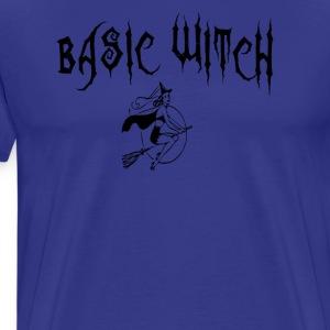 Basic Witch Halloween T Shirt - Men's Premium T-Shirt