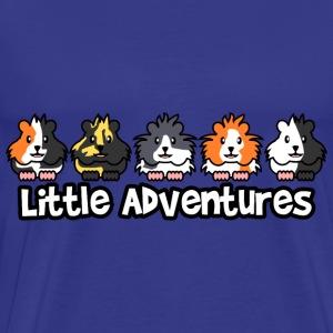 Little Adventures Guinea Pig Design - Men's Premium T-Shirt