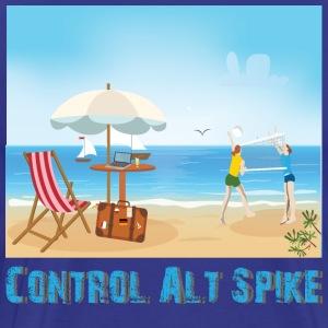 Control Alt Spike - Men's Premium T-Shirt