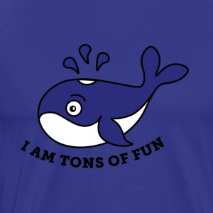 I am tons of fun - Men's Premium T-Shirt