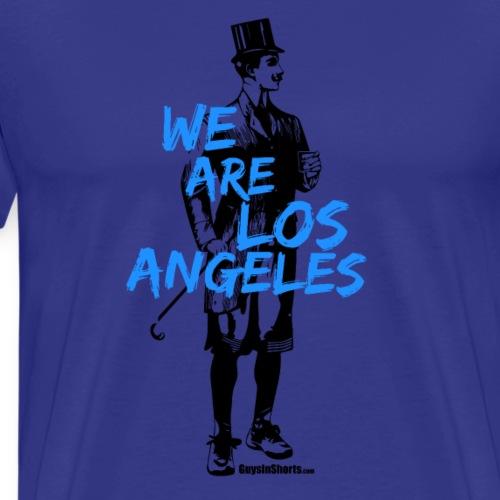 We Are Los Angeles Blue - Men's Premium T-Shirt