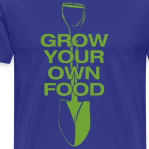 Grow your own food - Men's Premium T-Shirt