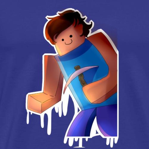 Melting Miner - Men's Premium T-Shirt