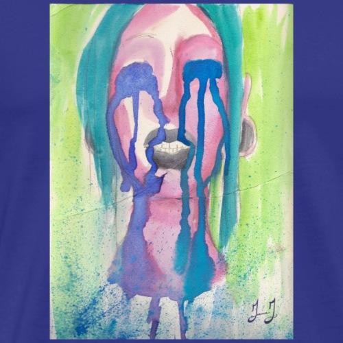 Rainbow Cries by Jessica J - Men's Premium T-Shirt