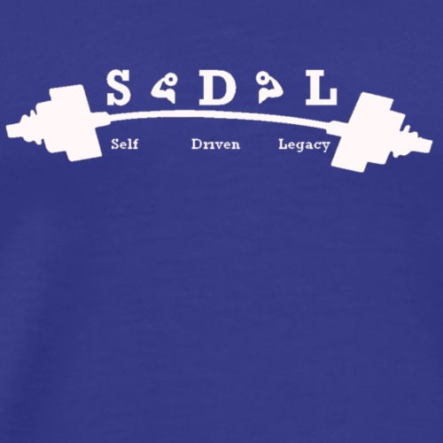 SDL White - Men's Premium T-Shirt