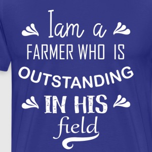 Farmer T-shirts | Funny Farming T-Shirts - Men's Premium T-Shirt