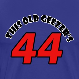 44 birthday design - Men's Premium T-Shirt