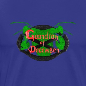 Guardian Of December logo - Men's Premium T-Shirt