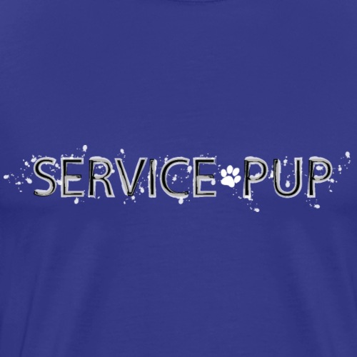 Pup Play Puppy Play Service Pup - Men's Premium T-Shirt