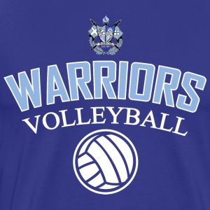 Warriors Volleyball Shirt 6 - Men's Premium T-Shirt
