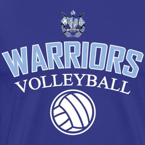 Warriors Volleyball Shirt 6 - Men's Premium T-Shirt