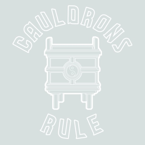 Cauldrons Rule (white) - Men's Premium T-Shirt