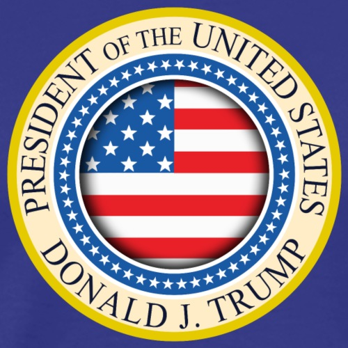 Donald J Trump, Presidential of the United States - Men's Premium T-Shirt