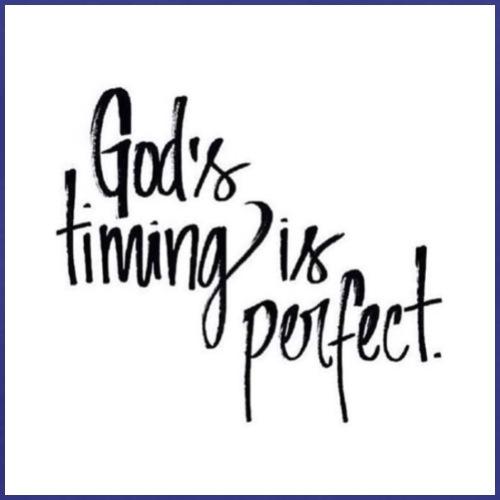 Gods timing - Men's Premium T-Shirt