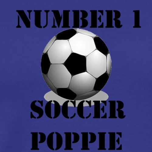 Soccer Poppie - Men's Premium T-Shirt
