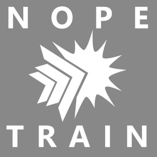 Nope Train White [Fubuki990] - Men's Premium T-Shirt