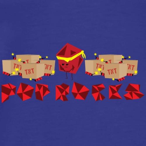 Red Pop Rocks - Men's Premium T-Shirt