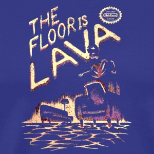 The Floor is Lava - Men's Premium T-Shirt