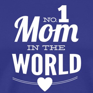 number_1_mom_in_the_world_black - Men's Premium T-Shirt