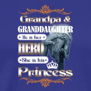 GrandPa and Granddaughter Tshirt - Men's Premium T-Shirt