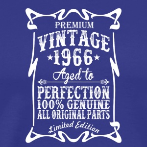 Premium Vintage 1966 Aged To Perfection Tshirt - Men's Premium T-Shirt